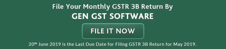 GEN GST Software