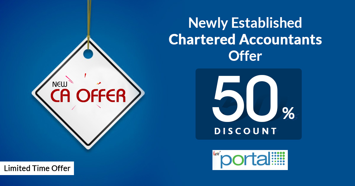 Offer Close: CA Portal Discount & Offers For  New Chartered Accountants