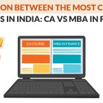 Comparison Between CA and MBA Courses