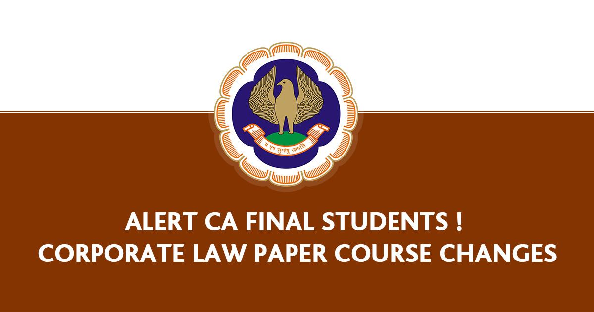 Alert CA law Papar
