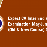 ICAI declare Result of Intermediate Old & New Course Examination