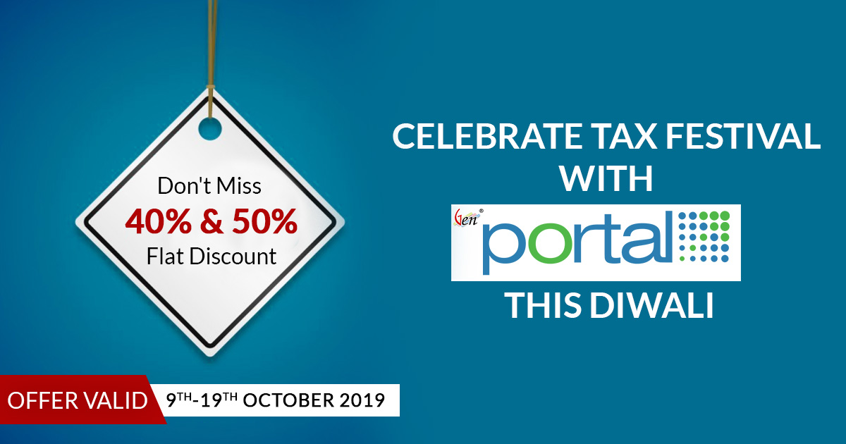 Close Offer : Tax Festival Diwali Offers On CA Portal