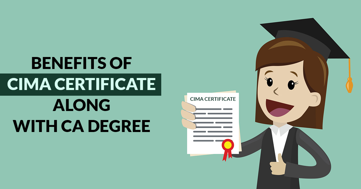 Benefits of CIMA Certificate