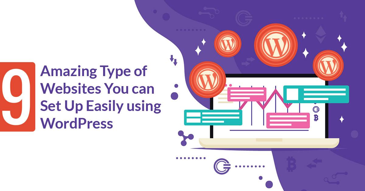 Type of Websites WordPress