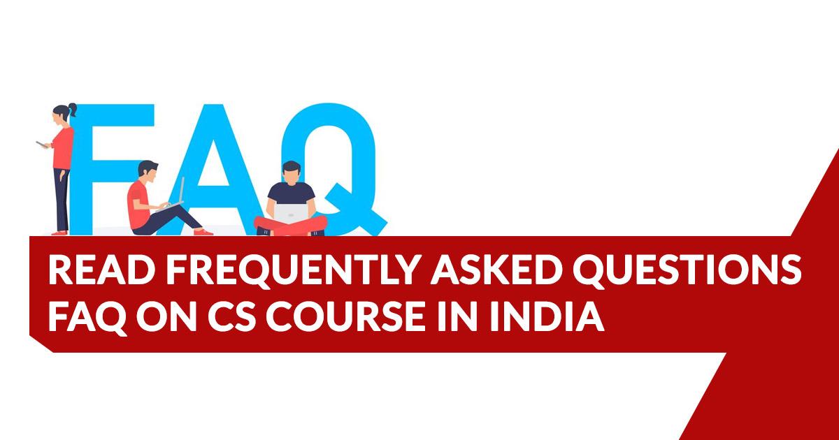 faq Question for CS course