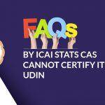 FAQs by ICAI ITR with UDIN