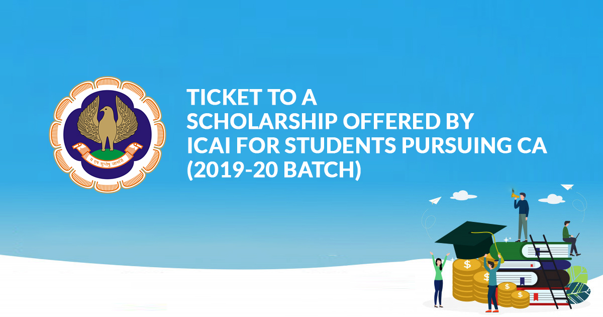 Scholarship Offered By ICAI