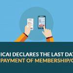 ICAI declares Membership/COP fees
