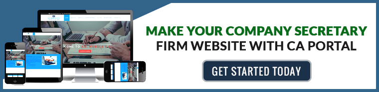 make your company secretary website