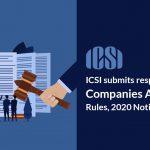ICSI Companies Amendment Rules,