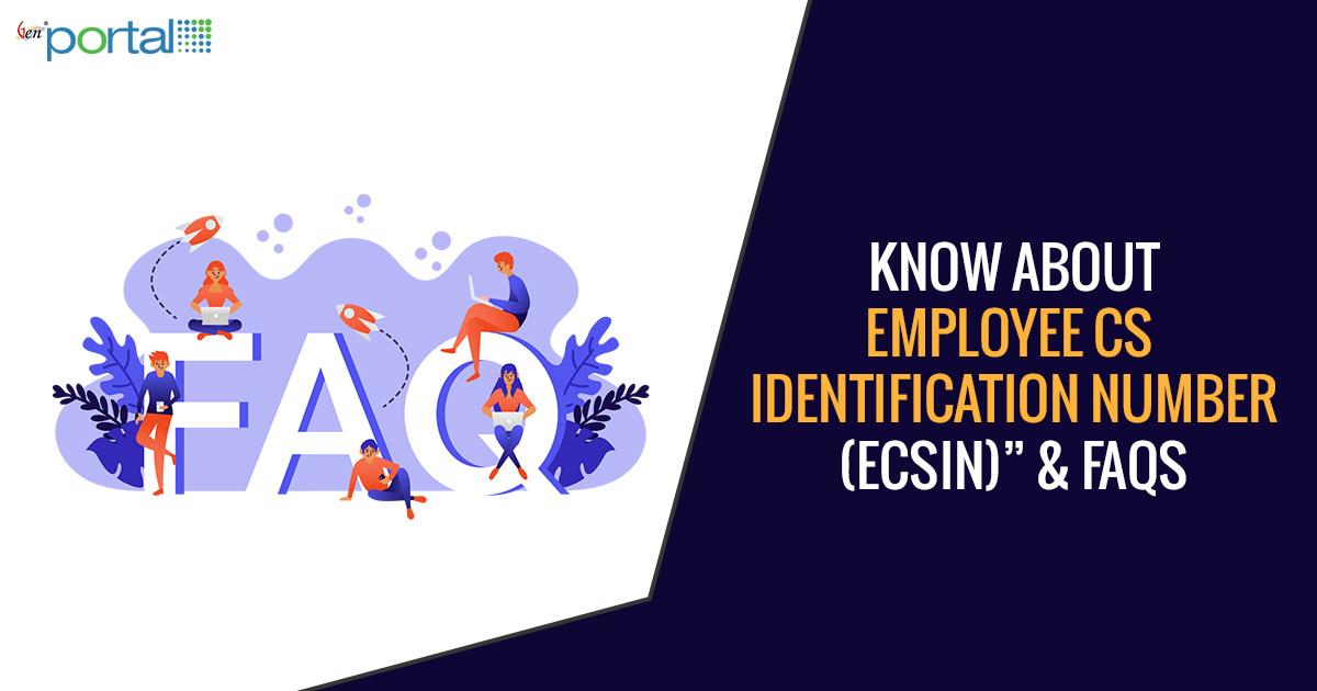 eCSIN & FAQs