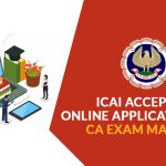 Online Applications CA Exam