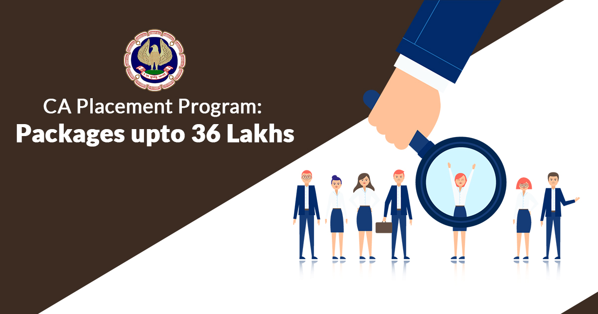 CA Placement Program: Packages upto 36 Lakhs