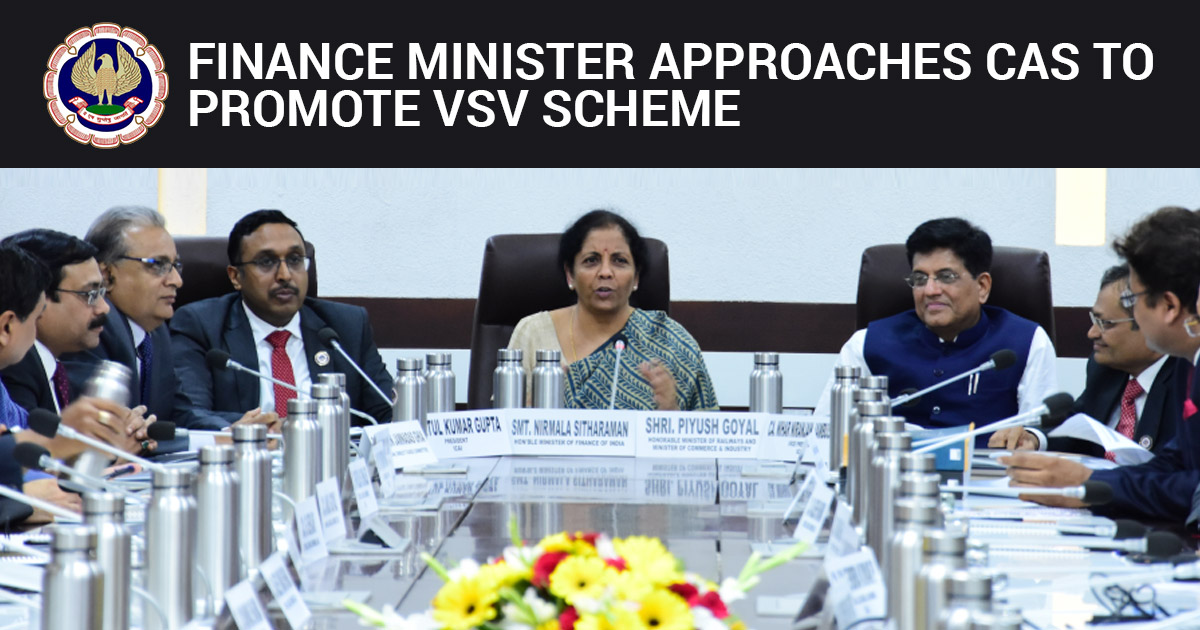 CAs to promote VSV scheme
