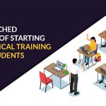 starting the practical training for CA