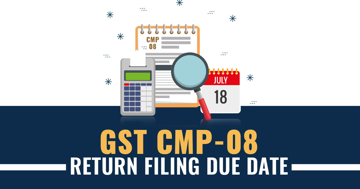CMP 08 Filing Due Date For October to December 2020