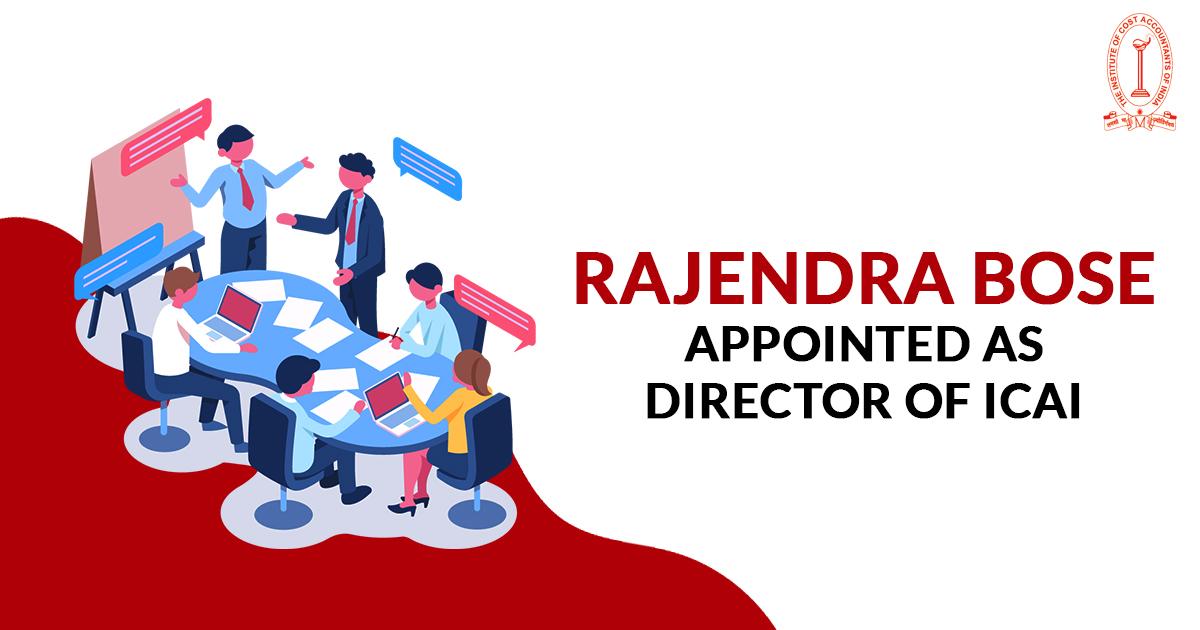Rajendra Bose, Joint Director as Director (Discipline)