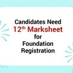 need to Upload 12th Marksheet ICAI
