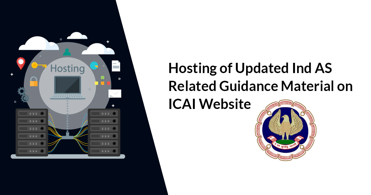 Hosting of Updated Ind AS Related Guidance Material on ICAI Website
