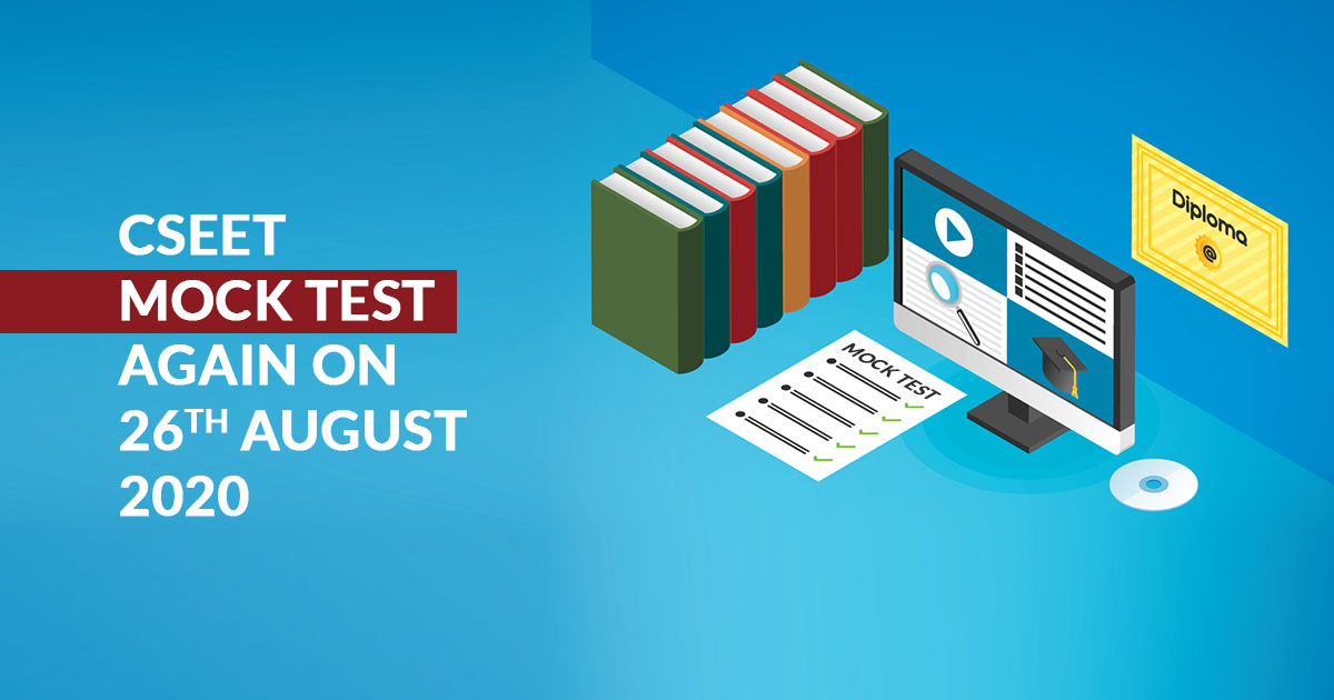 CSEET Mock Test Again on 26th August 2020
