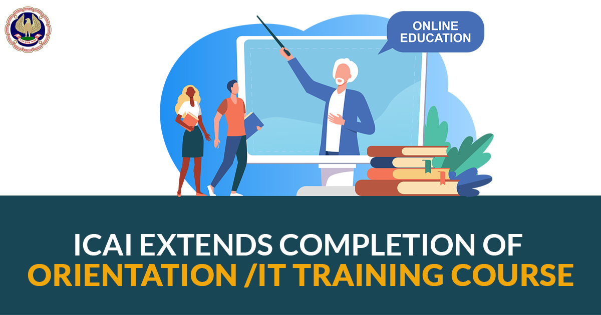 completion of Orientation /IT Training Course