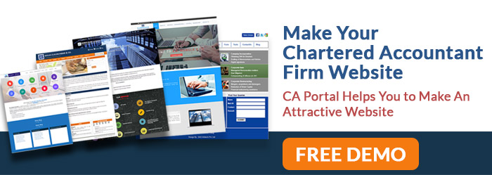 make a ca firm website