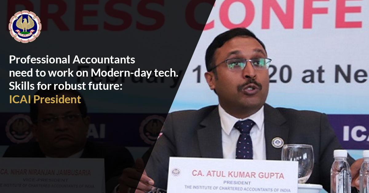 Skills for robust future ICAI President