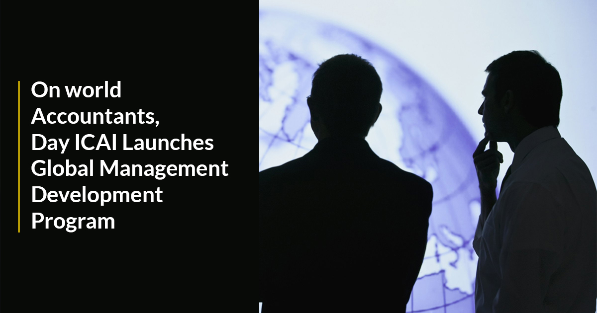 ICAI Launches Global Management Development