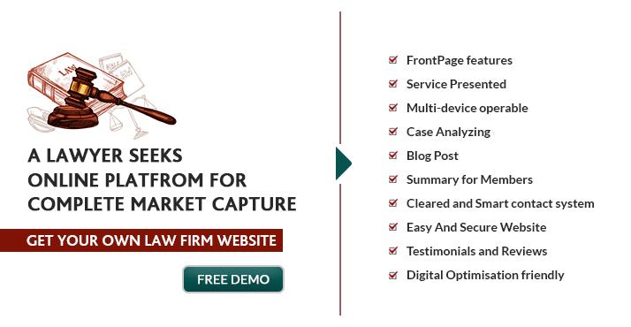 lawyer website demo