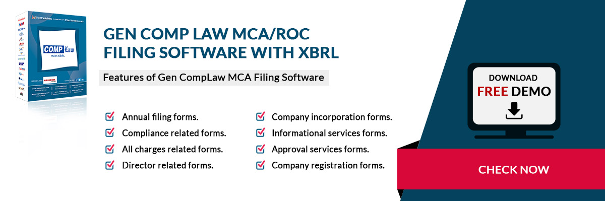 MCA/ROC Return Filing Software