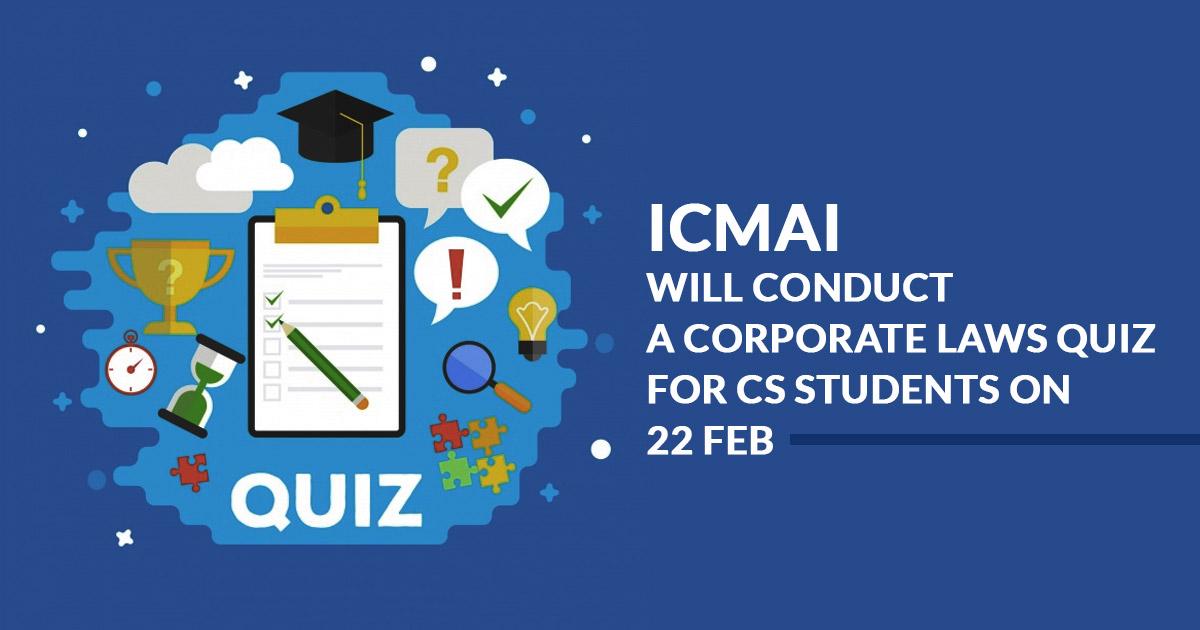 Corporate Laws Quiz for CS