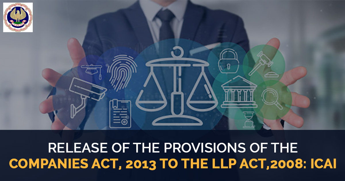 provisions of the Companies Act 2013