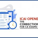 CA Exams Correction Window