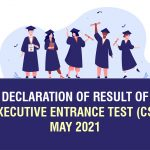 esult of CS Executive Entrance Test