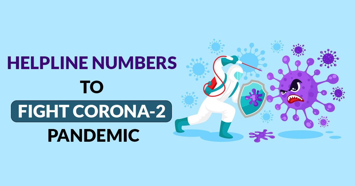 Numbers to Fight Corona-2 Pandemic