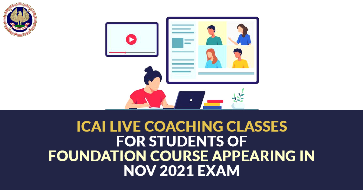 Free Live Coaching Classes For CA Courses