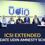 ICSI UDIN AMNESTY SCHEME, 2021