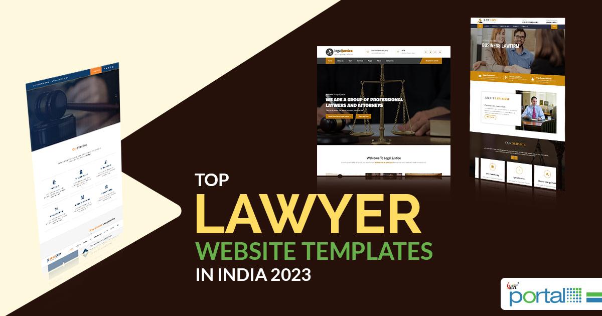 Law Firm Website Design Templates